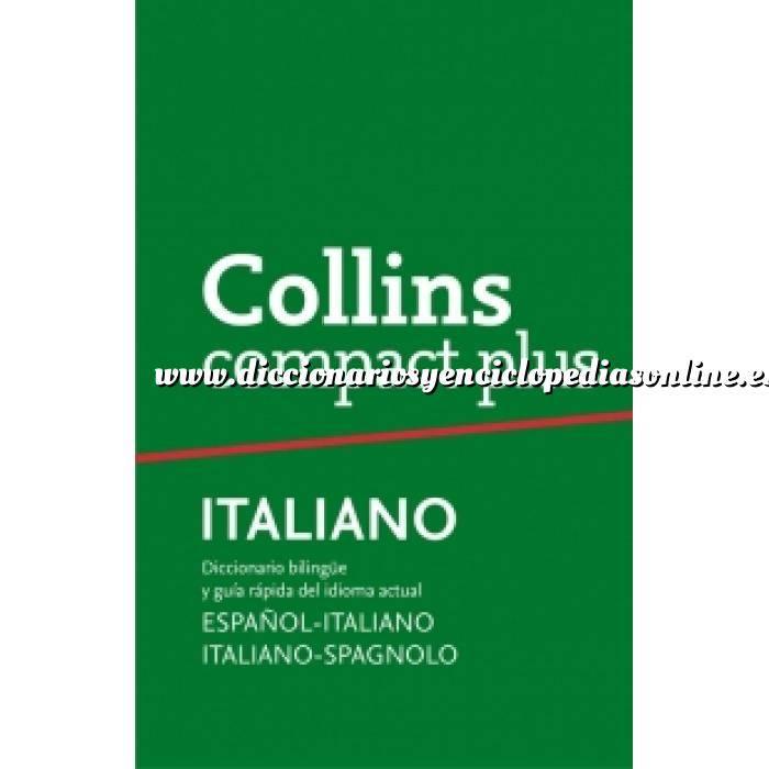 Imagen Diccionarios lingüísticos Diccionario Compact Plus Italiano (Compact Plus) bilingüe y gramática Español-Italiano v.v