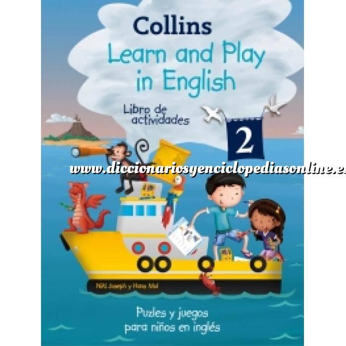Imagen Diccionarios lingüísticos Learn and play in English (Learn and play)  Libro de actividades 2