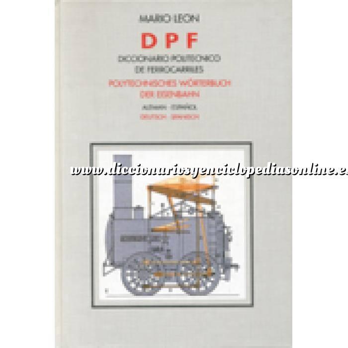 Imagen Diccionarios técnicos Diccionario politécnico de ferrocarriles. Alemán-español
