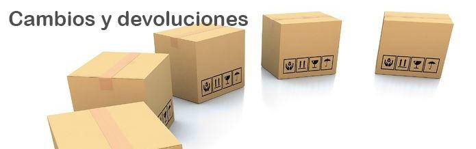 Librería diccionarios y enciclopedias on-line - Cambios y Devoluciones