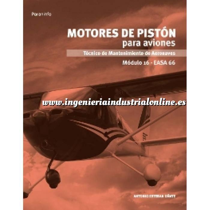 Imagen Aeronáutica Motores de pistón para aviones. Módulo 16