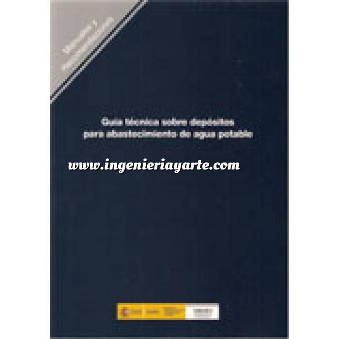 Imagen Abastecimiento de aguas y alcantarillado Guía técnica sobre depósitos para abastecimiento de agua potable