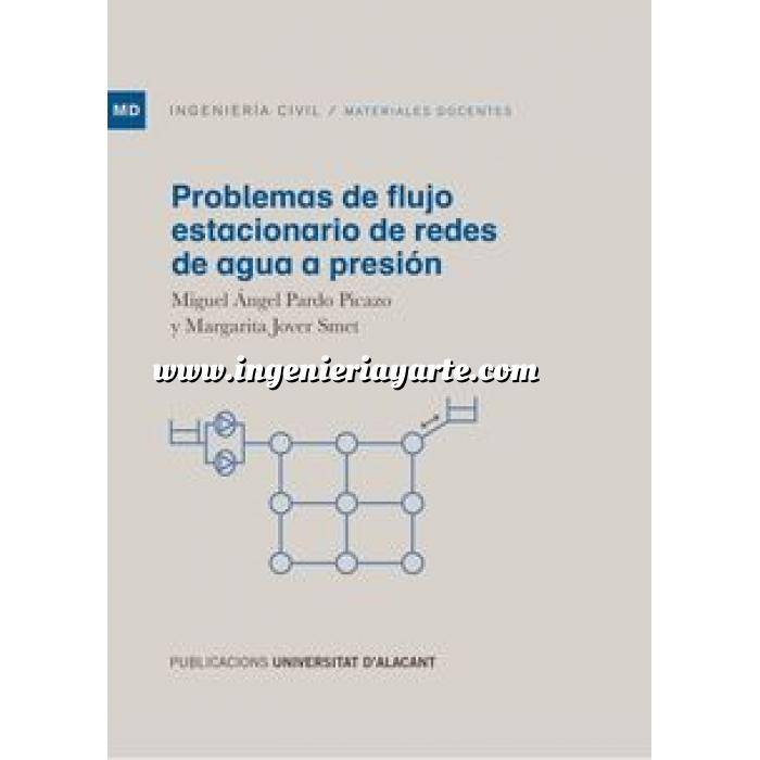 Imagen Abastecimiento de aguas y alcantarillado Problemas de flujo estacionario de redes de agua a presión