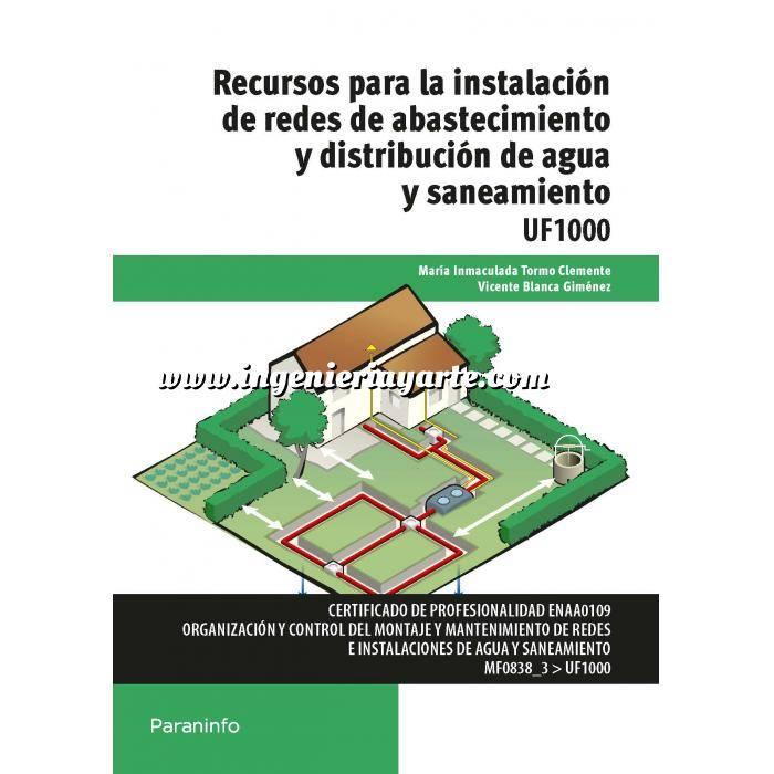Imagen Abastecimiento de aguas y alcantarillado Recursos para la instalación de redes de abastecimiento y distribución de agua y saneamiento