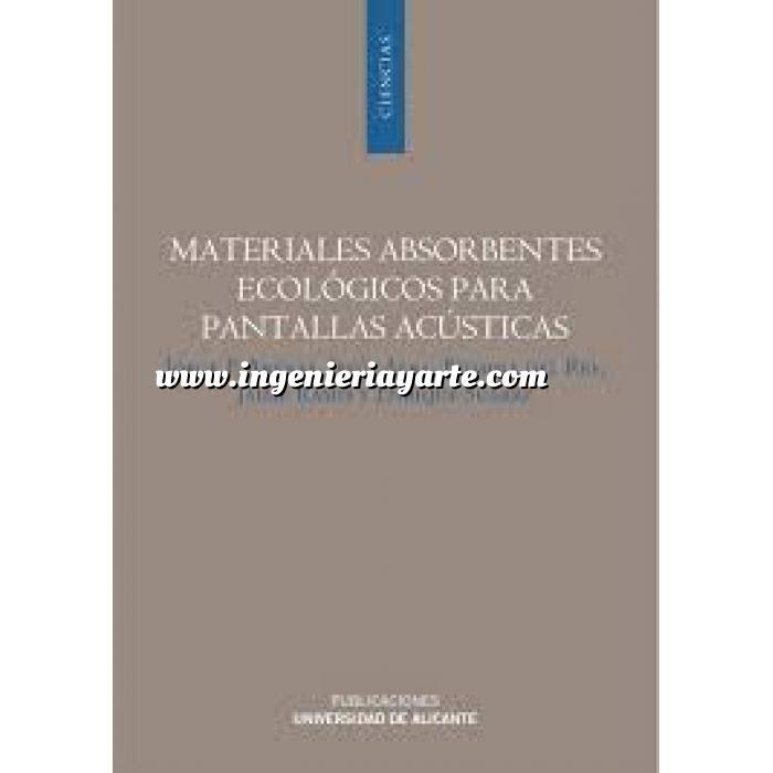 Imagen Acústica, ruido Materiales absorbentes ecológicos para pantallas acústicas
