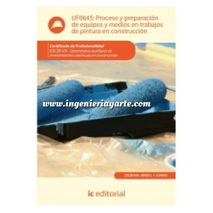 Imagen Albañilería  Proceso y preparación de equipos y medios en trabajos de pintura en construcción