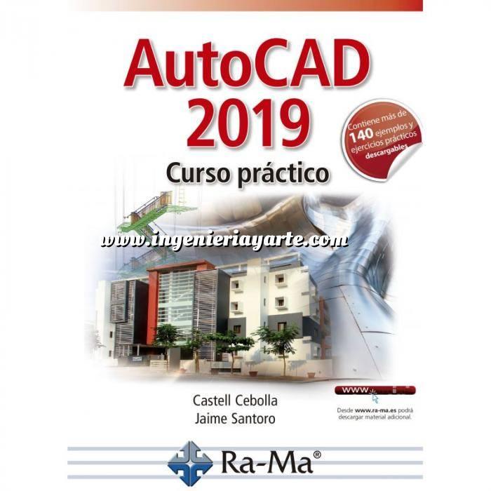Imagen Aplicaciones, diseño y programas  Autocad 2019. Curso Práctico