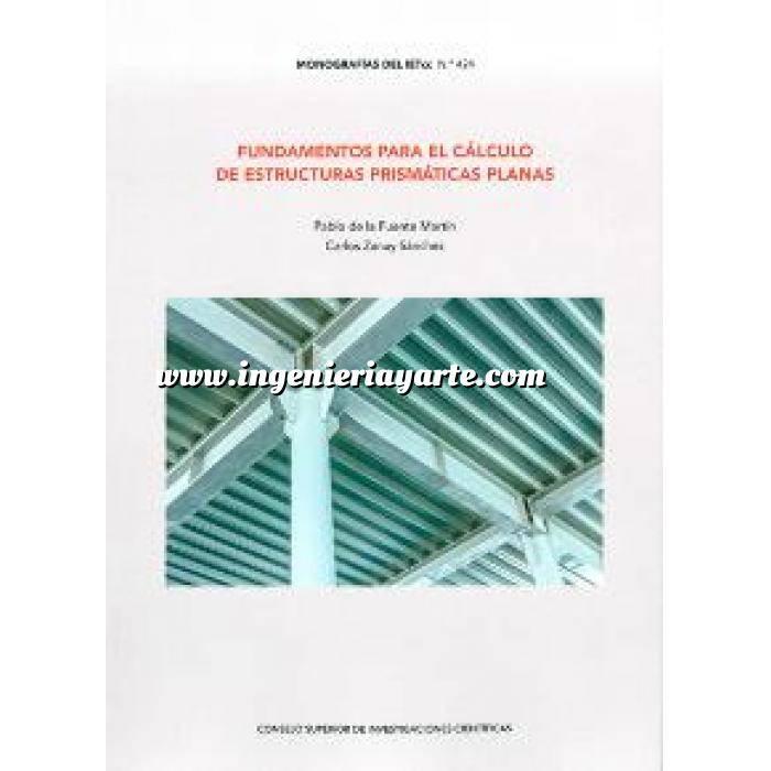 Imagen Cálculo de estructuras Fundamentos para el cálculo de estructuras prismáticas planas