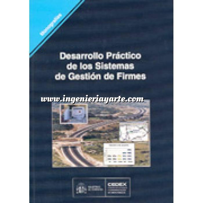 Imagen Carreteras Desarrollo práctico de los sistemas de gestión de firmes