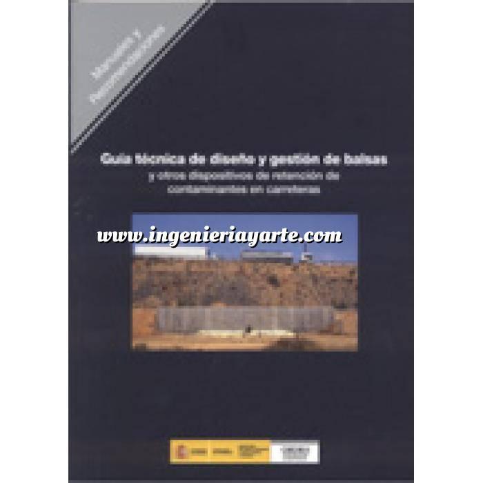 Imagen Carreteras Guía técnica de diseño y gestión de balsas y otros dispositivos de retención de contaminantes en carreteras
