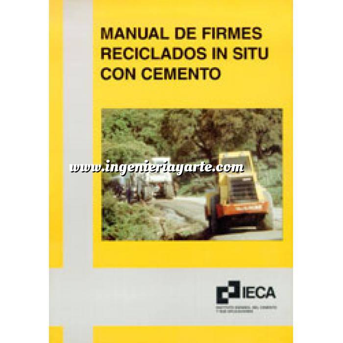 Imagen Carreteras Manual de firmes reciclados in situ con cemento