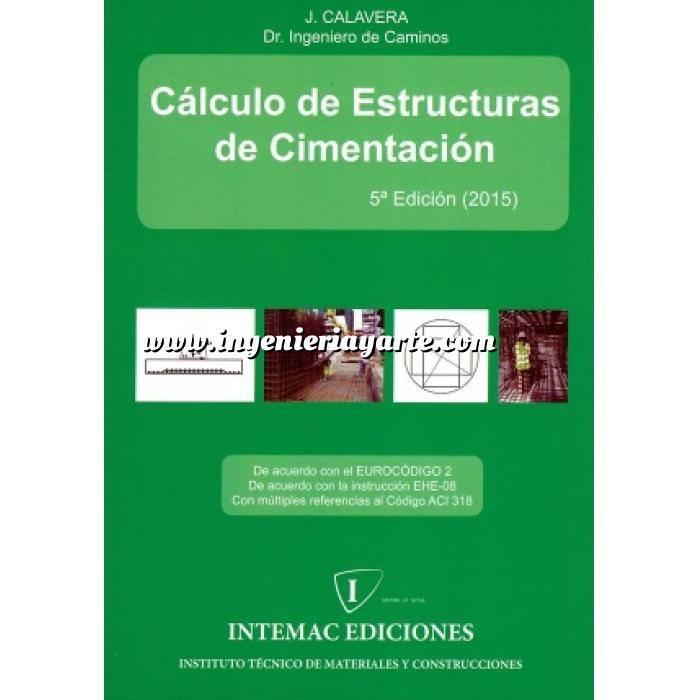 Imagen Cimentaciones Cálculo de Estructuras de Cimentación