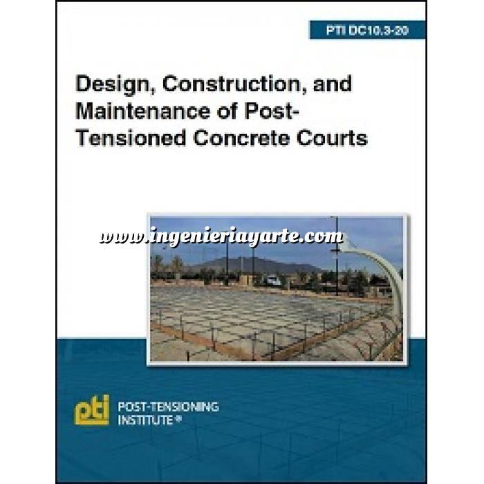 Imagen Cimentaciones DC10.3-20: Design, Construction, and Maintenance of Post-Tensioned Concrete Courts