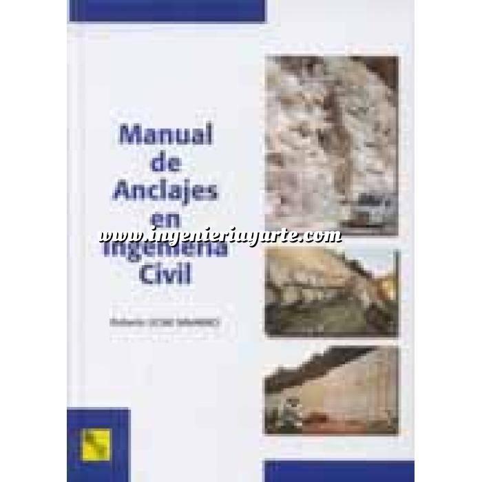 Imagen Cimentaciones Manual de anclajes en ingeniería civil