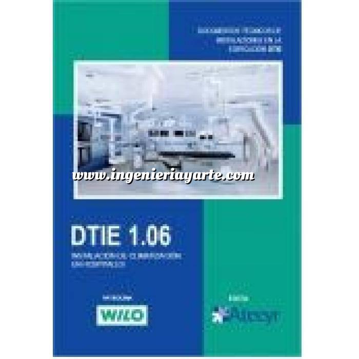 Imagen Climatización, calefacción, refrigeración y aire DTIE 1. 06 Instalaciones de climatización en hospitales