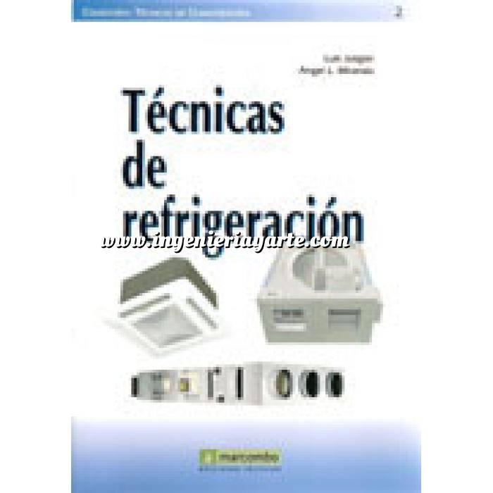Imagen Climatización, calefacción, refrigeración y aire Técnicas de refrigeración