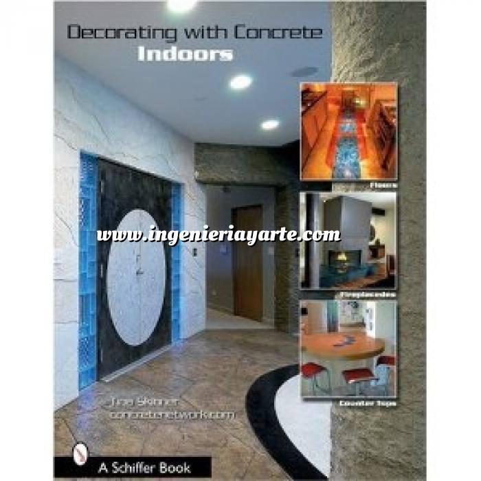 Imagen Detalles decorativos Decorating with Concrete: Indoors: Fireplaces, Floors, Countertops, & More