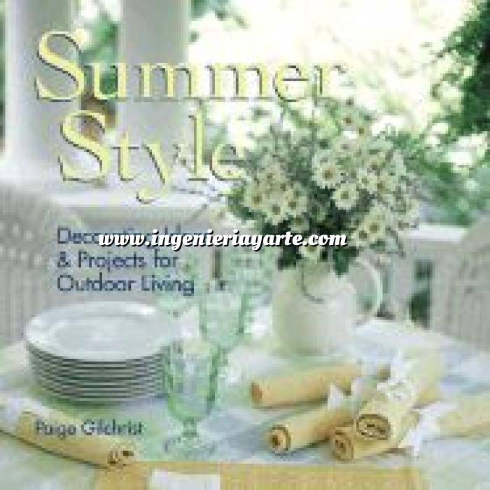 Imagen Detalles decorativos Summer style. Decorating ideas & projects for outdoor living