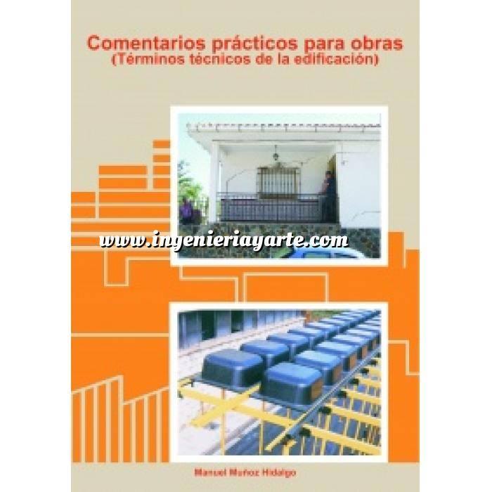 Imagen Diccionarios técnicos Comentarios prácticos para obras.Términos técnicos de la edificación