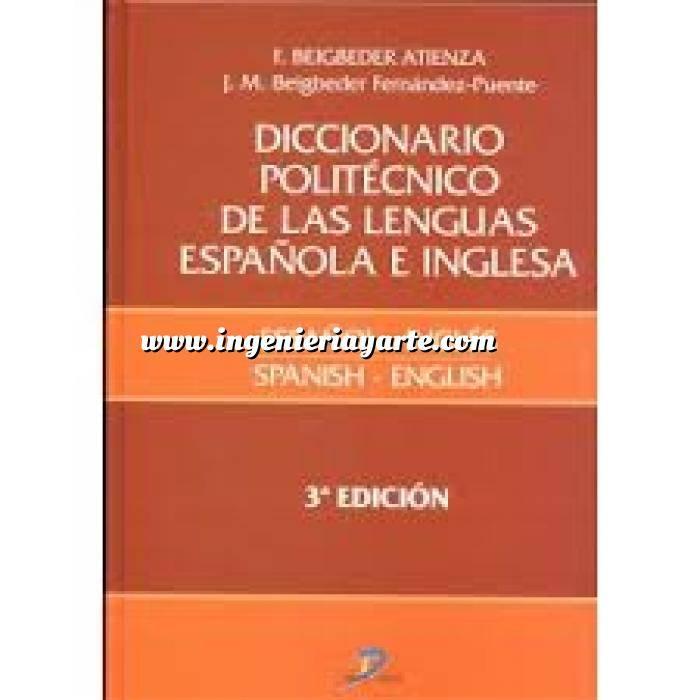 Imagen Diccionarios técnicos Diccionario politécnico de las lenguas española e inglesa: Español-inglés