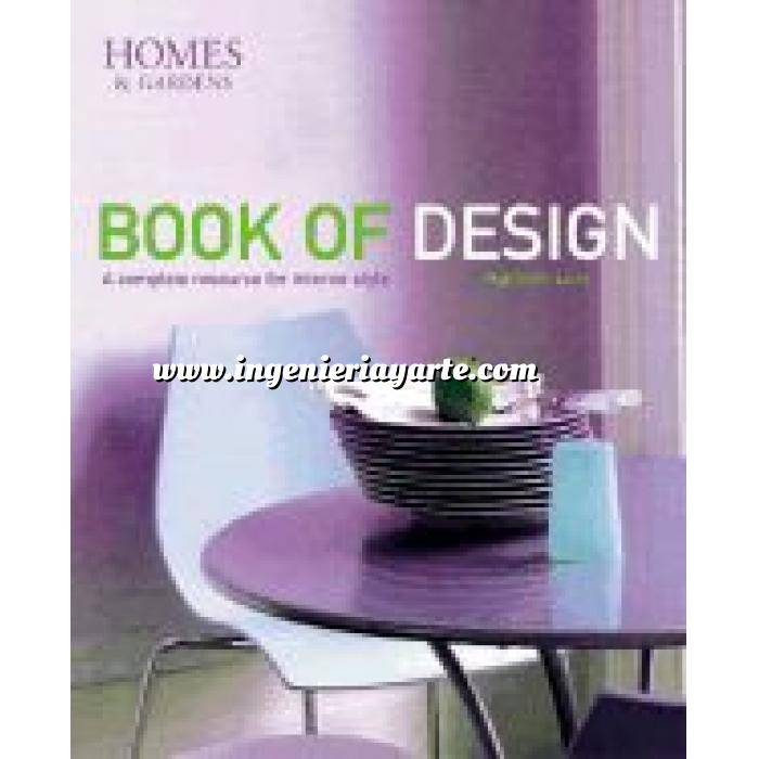 Imagen Diseño de jardines Book of design. Homes & gardens