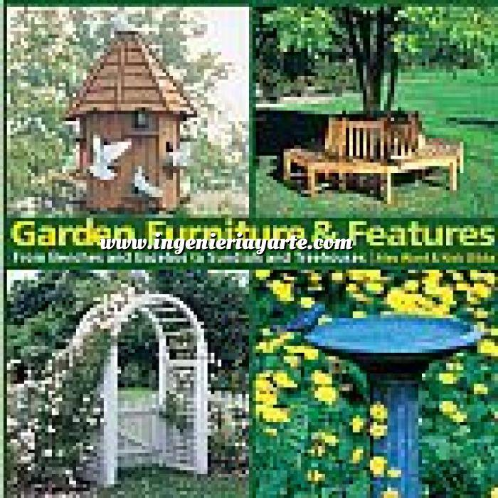 Imagen Diseño de jardines Garden Furniture and Features: From Benches and Gazebos to Sundials and Tree Houses