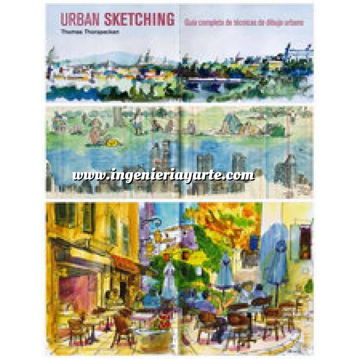 Imagen Diseño urbano Urban Sketching. Guía completa de técnicas de dibujo urbano