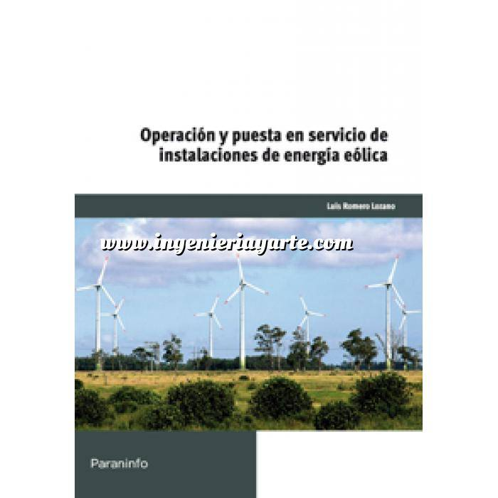 Imagen Energía eólica Operación y puesta en servicio de instalaciones de energía eólica