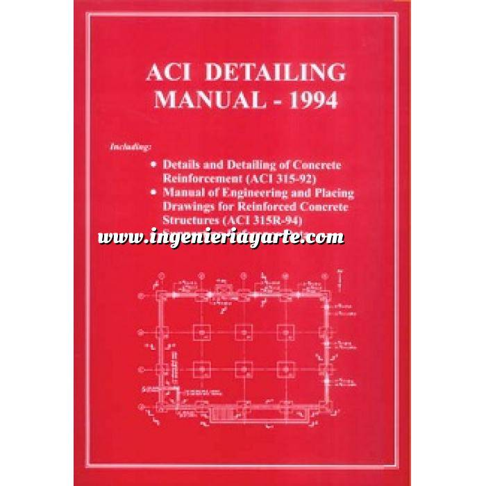 Imagen Estructuras de hormigón ACI detailing manual-1994.details and detailing of concrete reinforcement
