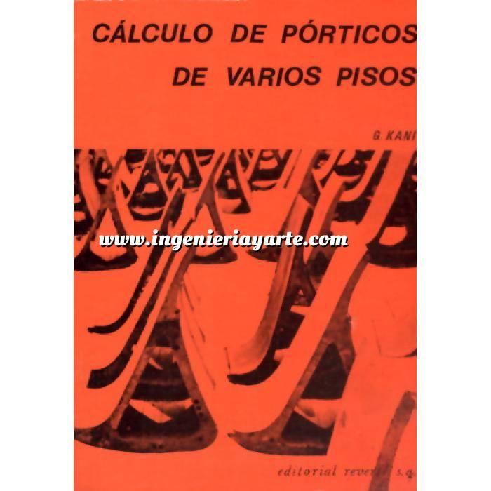 Imagen Estructuras de hormigón Calculo de pórticos de varios pisos