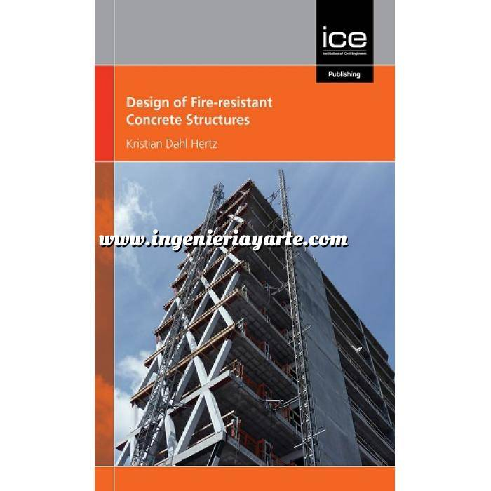 Imagen Estructuras de hormigón Design of Fire-resistant Concrete Structures