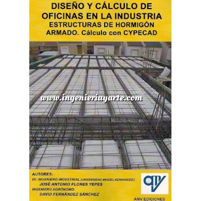 Imagen Estructuras de hormigón Diseño y cálculo de oficinas en la industria.Estructuras de hormigón armado.cálculo con CYPECAD