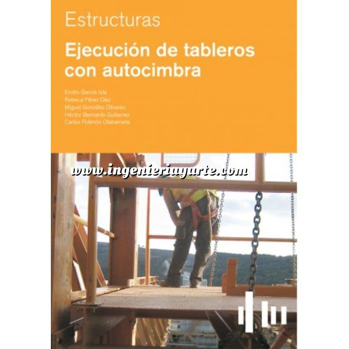 Imagen Estructuras de hormigón Ejecución de tableros con autocimbra