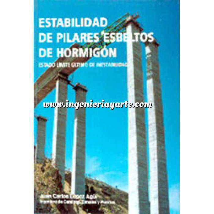 Imagen Estructuras de hormigón Estabilidad de pilares esbeltos de hormigón.estado límite último de inestabilidad