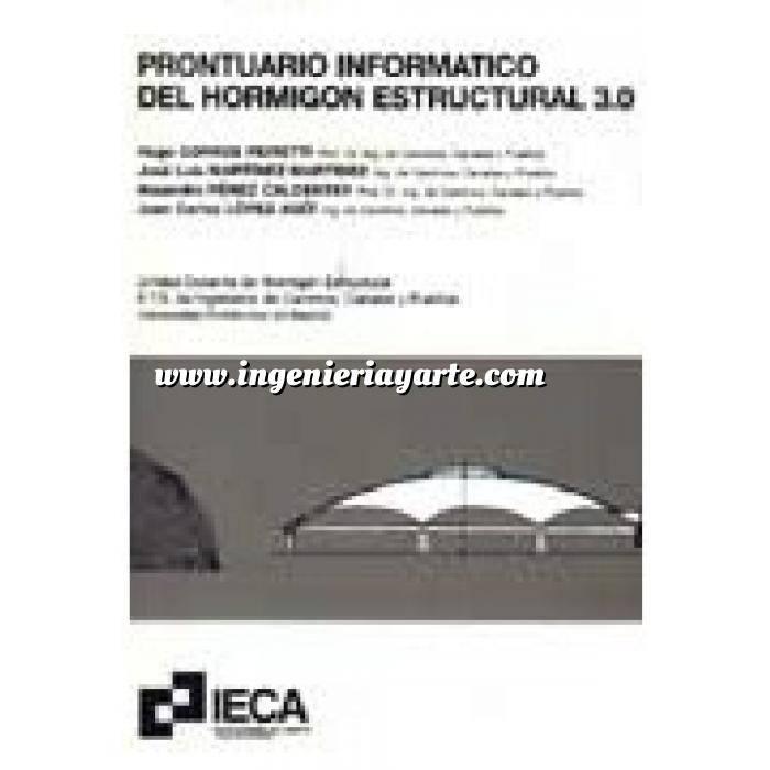 Imagen Estructuras de hormigón Prontuario informático del hormigón estructural 3.0