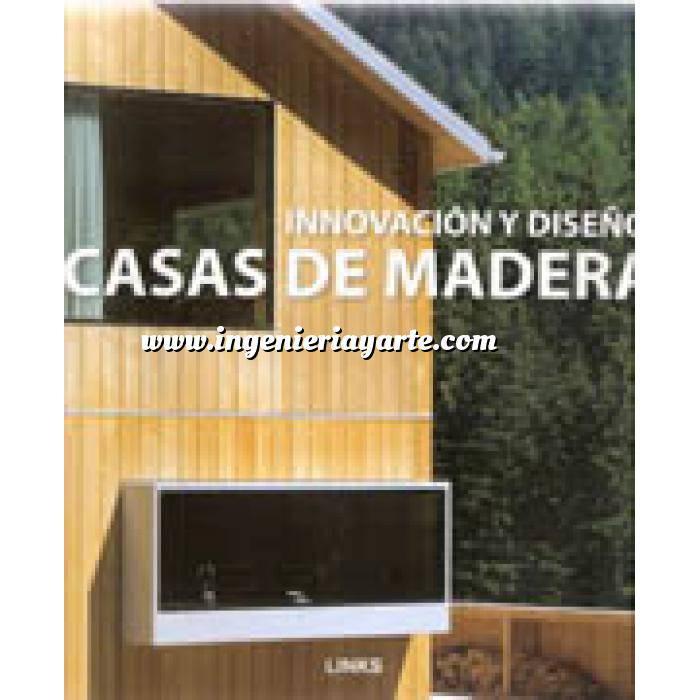 Imagen Estructuras de madera Casas de madera.innovación y diseño