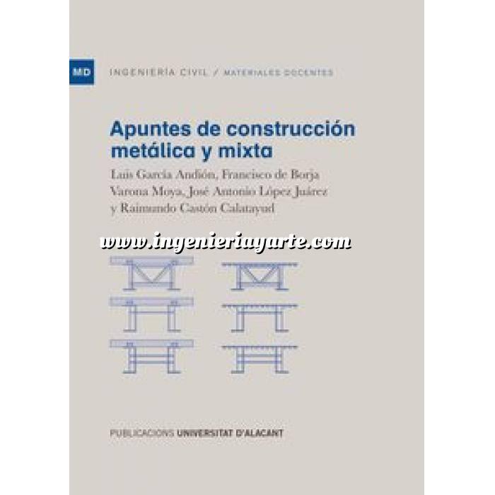 Imagen Estructuras mixtas Apuntes de construcción metálica y mixta