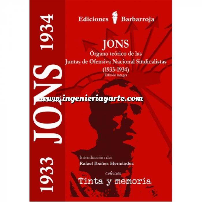 Imagen Falange/jose Antonio Jons.Organo teórico de las juntas de ofensiva nacional sindicalistas