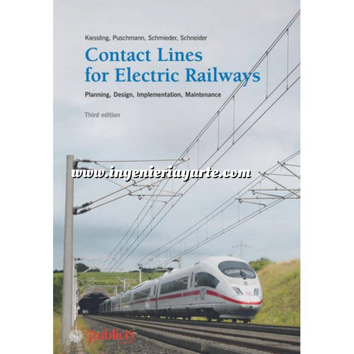 Imagen Ferrocarriles Contact Lines for Electric Railways: Planning, Design, Implementation, Maintenance