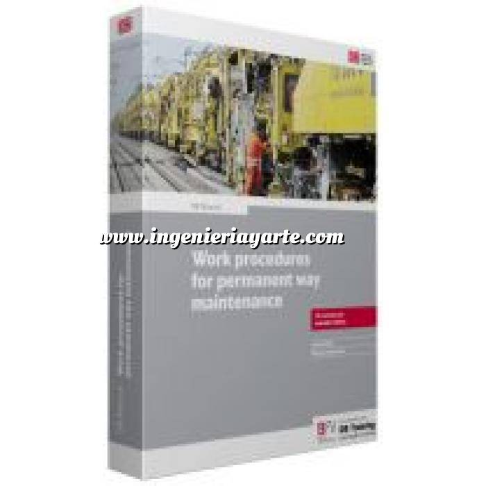 Imagen Ferrocarriles DB Manual work procedures for permament way  maintenance
