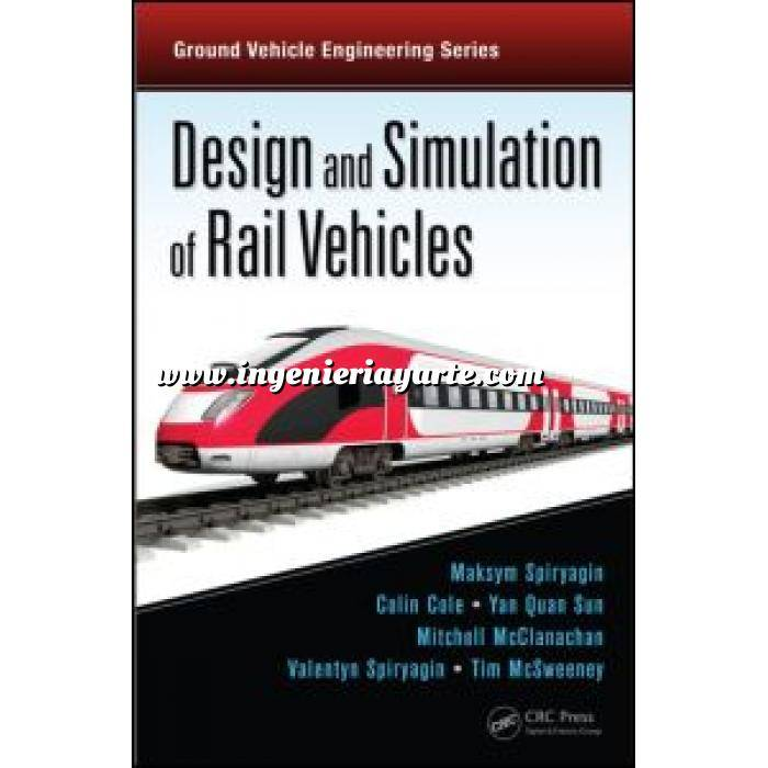 Imagen Ferrocarriles Design and simulation of rail vehicles