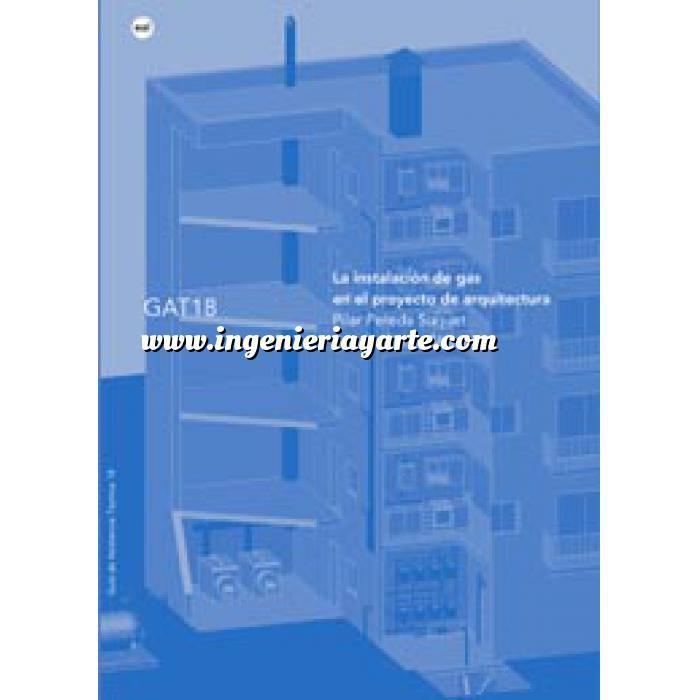 Imagen Gas La instalación de gas en el proyecto de arquitectura