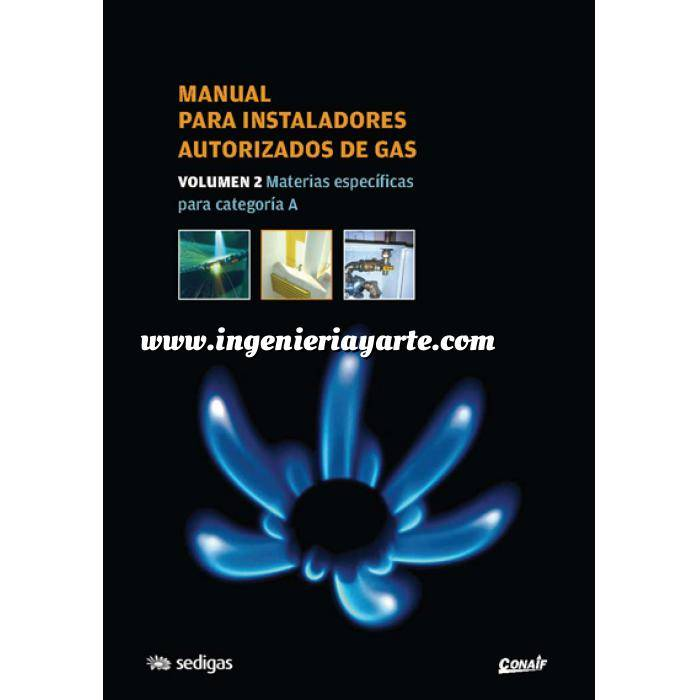 Imagen Gas Manual para instaladores autorizados de gas. Tomo 2. Materias específicas para categoría A