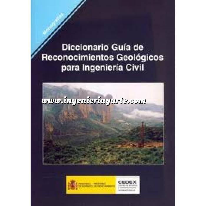 Imagen Geología Diccionario guia de reconocimientos geologicos para ingenieria civil