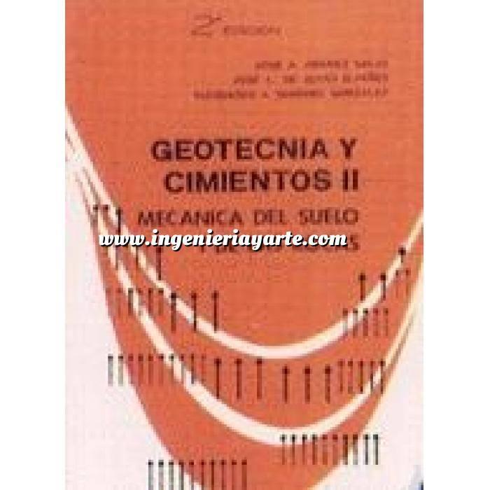 Imagen Geotecnia  Geotecnia y cimientos II. Mecanica teorica del suelo