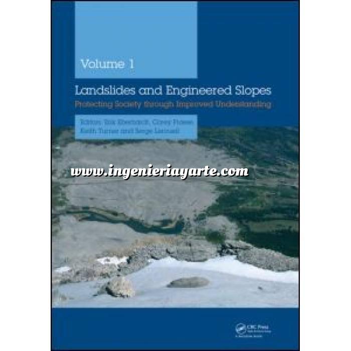 Imagen Geotecnia  Landslides and Engineered Slopes, 2 Volume Set +CDROM