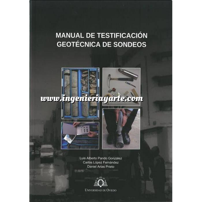 Imagen Geotecnia  Manual de testificación geotecnica de sondeos