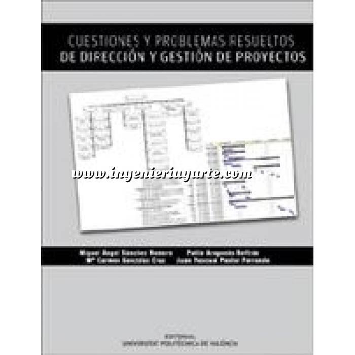 Imagen Gestion de proyectos Cuestiones y problemas resueltos de dirección y gestión de proyectos