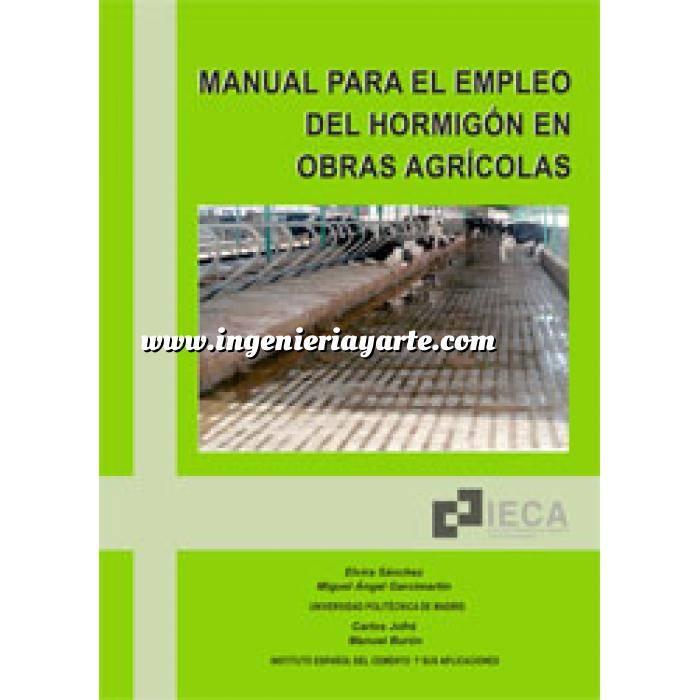 Imagen Hormigón armado Manual para el empleo del hormigón en obras agrícolas