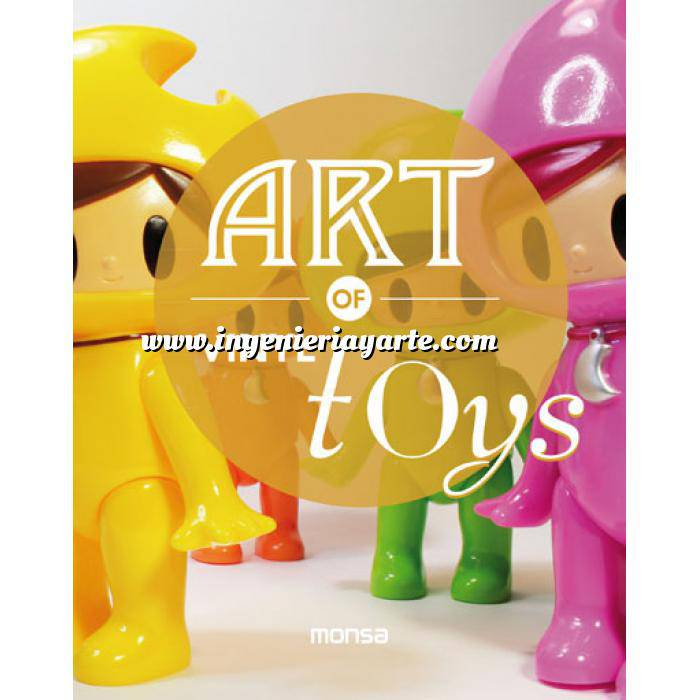 Imagen Ilustración Art of vinyl toys